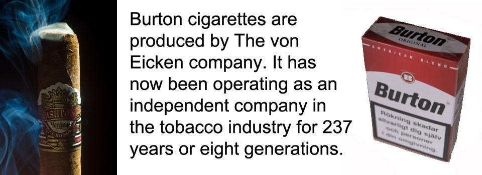 Burton Cigarettes
